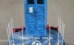 Tardis Bar Mitzvah cake