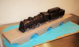 Lionel Train Cake