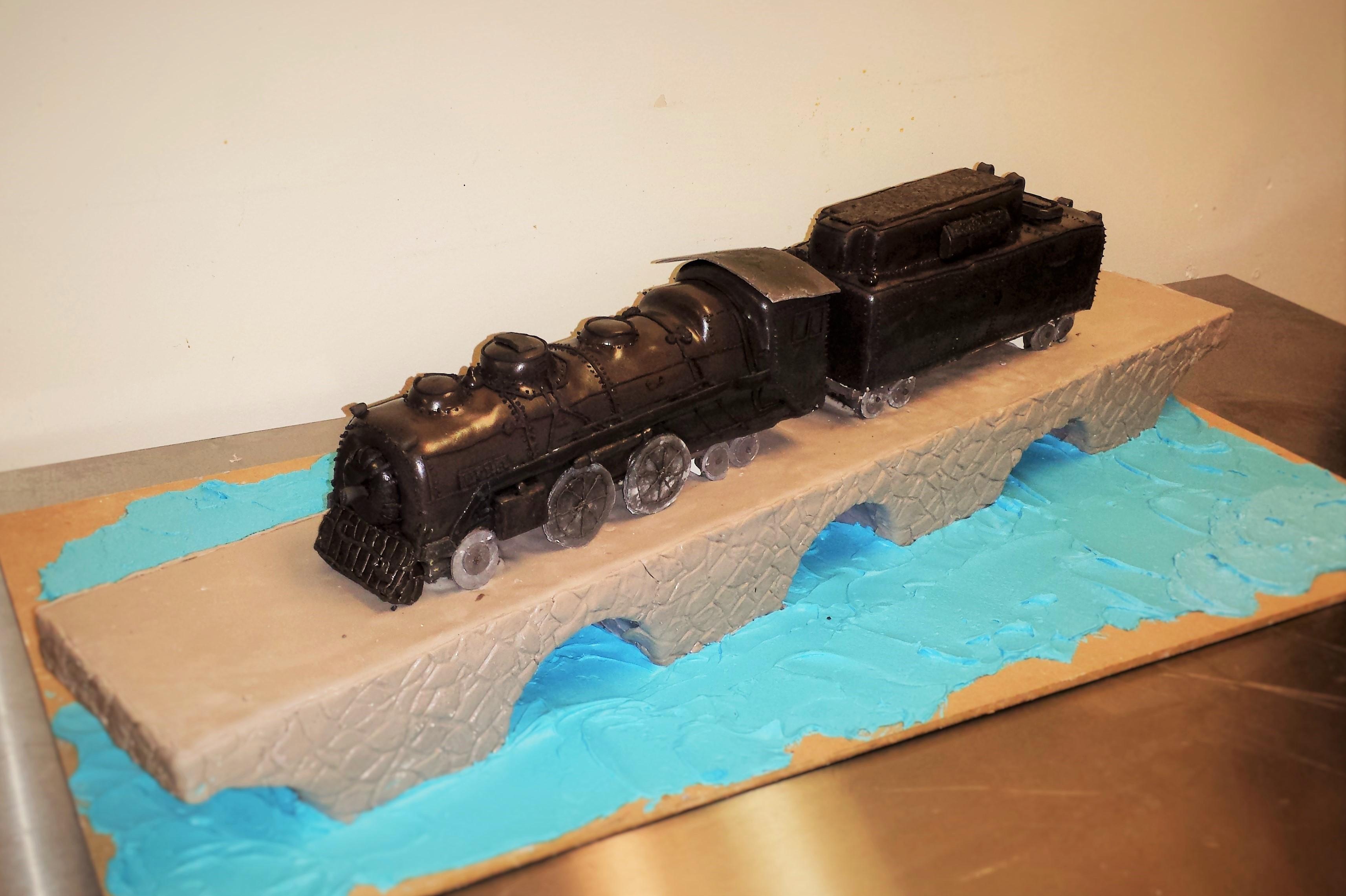 Train Wedding Cake
