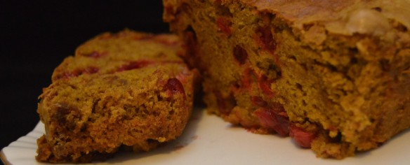 Weekly Special: Pumpkin Cranberry Bread